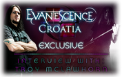 Evanescence Croatia Exclusive: Interview with Troy McLawhorn